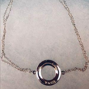 Tiffany Open Circle Bracelet 7 inches